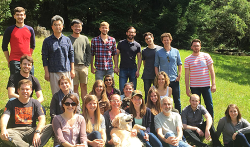 Staff at the Jagust Lab at Berkeley