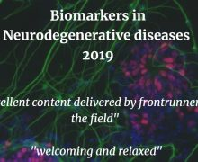 The 2nd Biomarkers in Neurodegenerative Diseases course- next time in London