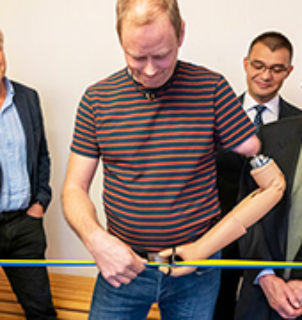 Unique laboratory opened for bionic limb prostheses at E2, Chalmers