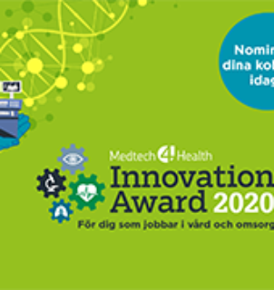 Medtech4Health Innovation Award- för er som implementerat innovativ medicinteknik